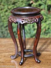 An Antique Chinese Hardwood Vase Stand #20140271老花梨五足小香几