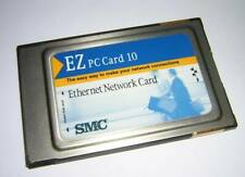 Smc Pcmcia Ez Pc Card 10 Ethernet Lan Network Adapter 8022Bt/T with Dongle Cable