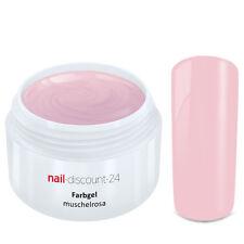 Color UV Gel FARBGEL MUSCHELROSA 5ml Frenchgel Modellage Nail Naildesign Nägel