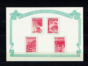 Albanien, Block 5, 15. Jahrestag der Befreiung, postfrisch, Michel 10,00 Euro