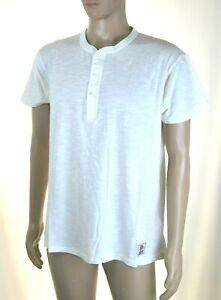 T-Shirt Maglia Uomo FRANKLIN & MARSHALL Italy H452 Bianco Tg XS S L XL XXL