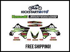 For Kawasaki KX250F Decal Kit Sticker Kit Aftermarket KX 250 250F 2009-2011