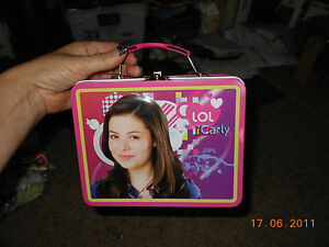 ICARLY METAL LUNCH BOX PINK