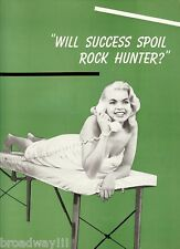 """Jayne Mansfield """"WILL SUCCESS SPOIL ROCK HUNTER?"""" Orson Bean 1955 Program"""