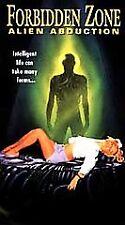 Forbidden Zone: Alien Abduction VHS, 1996 NEW