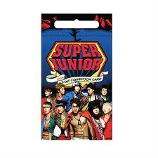 SUPER JUNIOR KPOP KOREAN STAR COLLECTION CARD 10PACK KIT LIMITED + MAGNETIC CARD