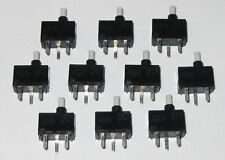10 X Momentary Pushbutton Micro Switches - PC Board Mount - SPST NO - Mini Size