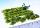 HO / O scale Garden plants green bushes miniature model railway dollhouse 1:87