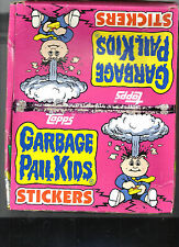 12 - 1986 TOPPS GARBAGE PAIL KIDS SERIES 4 RACK PACKS IN BOX CARDS LOOK MINT !