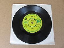 """Wire sono la Mosca/EX Domatore di leoni 7"""" RARA REGNO UNITO ORIGINALE 1977 A Label DEMO COPY"""