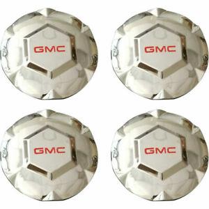 "4pcs 2002-2007 GMC ENVOY XL XUV N80 17"" Wheel Hub CHROME Center Cap New"