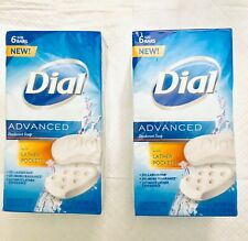 Dial Advanced Deodorant Soap with Lather Pockets 5oz bars. 12 Bars/Pkg