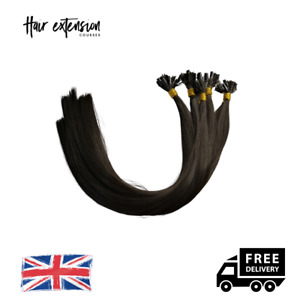 Fusion Bonds   U Tip   Nail Tip Practice Hair - 100 Strands