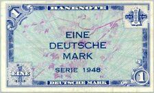 Germany FR / Deutschland P2a / Ro.232 1 mark 1948 VF