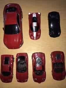 7 Spielzeugautos+++6 x Ferrari und 1x Maserati