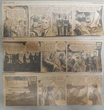 """(311) """"Steve Canyon"""" Dailies by Milton Caniff  from 1954 Size: 3 x 8 inches"""