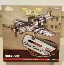 CORGI AVIATION P-51K MUSTANG 'MRS BONNIE' NOSE ART 1:72