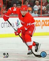"""Gustav Nyquist Detroit Red Wings 2015-2016 Action Photo (Size: 8"""" x 10"""")"""