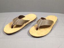 b61d7b9a11d6 Merona Mens Elbert Flip Flop Sandals Brown Small 7 8