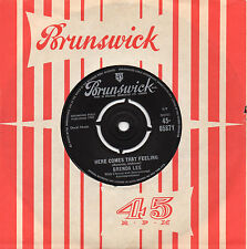 BRENDA LEE here comes that feeling*everybody loves me but you 1962 UK BRUNSWICK