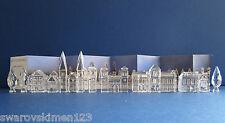 Swarovski Silver Crystal City complete.