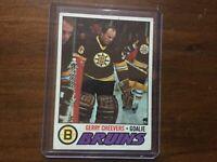 1977-78 Topps #260 Gerry Cheevers Boston Bruins Hockey Card