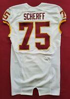 #75 Brandon Scherff of Washington Redskins NFL Locker Room Game Issued Jersey