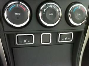 D Mazda 6 GH Chrom Rahmen für Schalter Sitzheizung - Edelstahl poliert