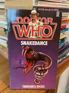 doctor who target book -  SNAKEDANCE - 1st edition