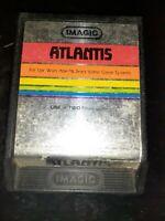 Atlantis (Atari 2600, 1982) *BUY 2 GET 1 FREE +FREE SHIPPING*