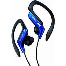 JVC HAEB75A Sports Ear Clip Earphones with Adjustable Clip - Blue
