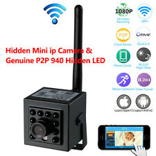 1080P Hd WiFi Mini Cam Wireless Ip Home Camera P2P Onvif Webcam 940nm Ir Leds
