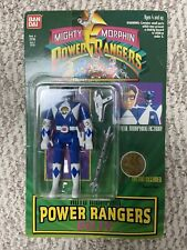 2x Vintage Blue Bandai Mighty Morphin Power Rangers Auto Morphin BILLY 1994 RARE