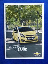 Chevrolet Spark MJ 2013 - Prospekt Brochure 11.2012