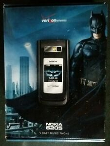 BOX & Promo items ONLY - NOKIA 6205 The Dark Knight Edition - Phone NOT included