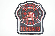 Canadian Fire Department Station Patch 344 Annex Howland Avenue Toronto