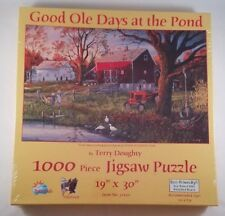 Good Ole Days At The Pond 1000 Piece Puzzle by Sunsout Terry Doughty