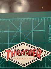 Thrasher Magazine Skate Skateboard Sticker Laptop Cell Phone Decal Cb