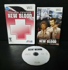 Trauma Center: New Blood (Nintendo Wii, 2007) Complete