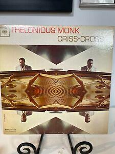 THELONIOUS MONK CRISS-CROSS  EX+ SOUND  MONO PROMO LP