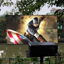 100'' Inches 16:9 HD Portable Projector Screen for Outdoor Projection Movie Game