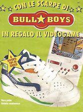 X1868 Bull Boys regala videogame - Pubblicità del 1994 - Vintage advertising