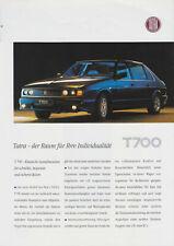 Tatra T700 Prospekt, 1997, deutsch !