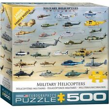 [EG85000088] Military Helicopters (Eurographics 500 Piece Jigsaw Puzzle) Militar