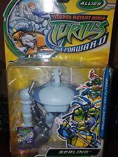 Teenage mutant ninja turtles fast forward Serling Robot Bodyguard to Cody Jones