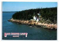 Postcard Bass Harbor Head Light, Maine ME MS781