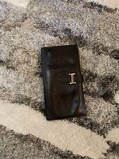 Black Hermes Wallet Vintage