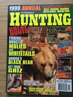 1999 Petersens  Hunting Annual Edition, Decoying Waterfowl, Upland Gaming,