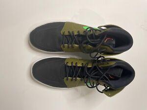 Size 13 - Jordan 1 Retro High Nouveau Militia Green 2016