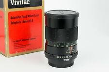 Vivitar 135mm 1:2.8 Auto Telephoto obiettivo portrait lens Nikon F pre ai mount